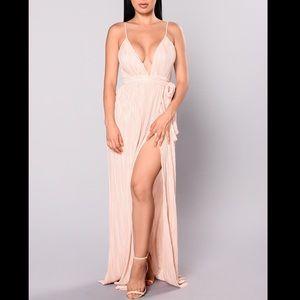 Champagne Maxi Dress